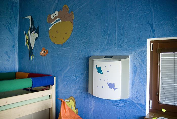 Jednotka v detskej izbe